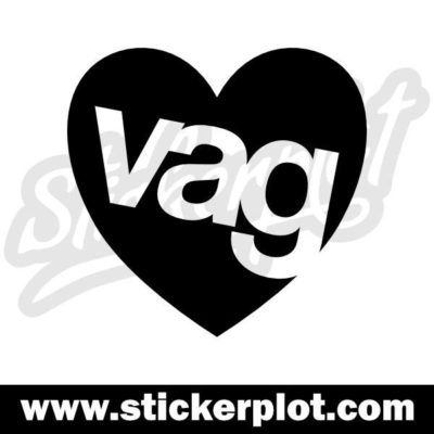 Sticker VAG Love