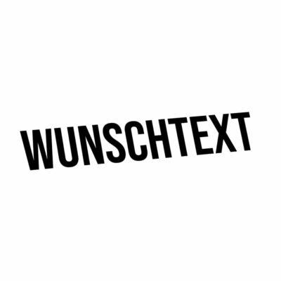 Wunschtext-Sticker